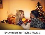 rear view of a couple enjoying... | Shutterstock . vector #526370218