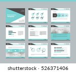 page layout design template for ... | Shutterstock .eps vector #526371406