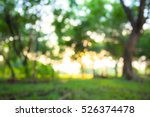 abstract blur  morning sunlight ... | Shutterstock . vector #526374478