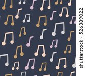 vector seamless pattern with... | Shutterstock .eps vector #526389022