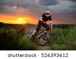 professional cyclist riding the ... | Shutterstock . vector #526393612