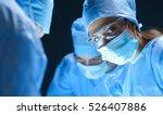 team surgeon at work on...   Shutterstock . vector #526407886
