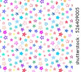 stars colorful doodle cartoon... | Shutterstock .eps vector #526409005