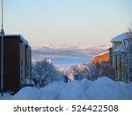 kiruna  sweden   january 2015 ... | Shutterstock . vector #526422508