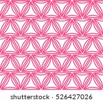 seamless pattern with triangles.... | Shutterstock .eps vector #526427026