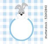 baby boy arrival announcement | Shutterstock .eps vector #52642843