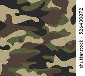 camouflage pattern background.... | Shutterstock .eps vector #526430872