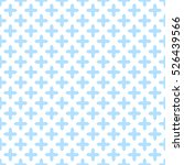 crosses seamless pattern....   Shutterstock .eps vector #526439566