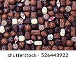 assortment of fine chocolate... | Shutterstock . vector #526443922