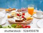 breakfast table | Shutterstock . vector #526450378