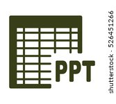 document icon  flat design style | Shutterstock .eps vector #526451266