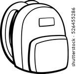 backpack | Shutterstock .eps vector #526455286