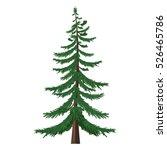 vector single isolated cartoon... | Shutterstock .eps vector #526465786