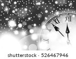 new year and christmas concept... | Shutterstock .eps vector #526467946