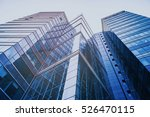 modern skyscrapers in a... | Shutterstock . vector #526470115