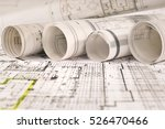 architectural project  | Shutterstock . vector #526470466