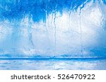 ice cube texture background ... | Shutterstock . vector #526470922