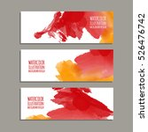 vector banner shapes collection ... | Shutterstock .eps vector #526476742
