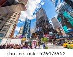 new york city   june 2013 ... | Shutterstock . vector #526476952