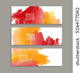 vector banner shapes collection ... | Shutterstock .eps vector #526477042