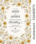 wedding invitation marriage.... | Shutterstock .eps vector #526483072