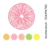 Collection Of Citrus Slices  ...