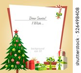 christmas tree background | Shutterstock .eps vector #526498408