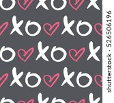 vector seamless pattern with ... | Shutterstock .eps vector #526506196