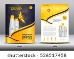 annual report brochure flyer...   Shutterstock .eps vector #526517458