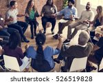 people meeting seminar office... | Shutterstock . vector #526519828