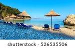 summer morning pulebardha beach ... | Shutterstock . vector #526535506