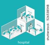 isometric flat interior of... | Shutterstock . vector #526538548