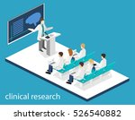 isometric flat 3d concept of... | Shutterstock . vector #526540882