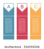 banners infographic flat