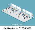 isometric flat 3d concept... | Shutterstock . vector #526546432