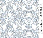 vector floral wallpaper.... | Shutterstock .eps vector #526548142