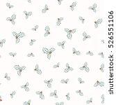 vector illustration of holly... | Shutterstock .eps vector #526551106