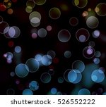 abstract bokeh background.... | Shutterstock . vector #526552222