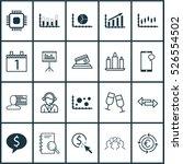 set of 20 universal editable... | Shutterstock .eps vector #526554502