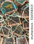 Stack Of Lobster Crab Pot's...