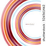 colorful blurred stripes ...   Shutterstock . vector #526561462