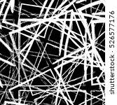 grunge geometric overlay... | Shutterstock .eps vector #526577176