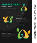 info graphics process of... | Shutterstock .eps vector #526598452