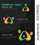 info graphics process of...   Shutterstock .eps vector #526598452