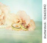 wedding rings | Shutterstock . vector #526631842