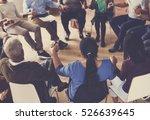 people meeting seminar office... | Shutterstock . vector #526639645