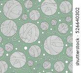 raster illustration. seamless... | Shutterstock . vector #526640302