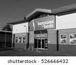 andover  retail park  hampshire ... | Shutterstock . vector #526666432