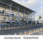 Boat Storage Facility. Storing...