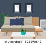 furniture. interior. living... | Shutterstock .eps vector #526690642